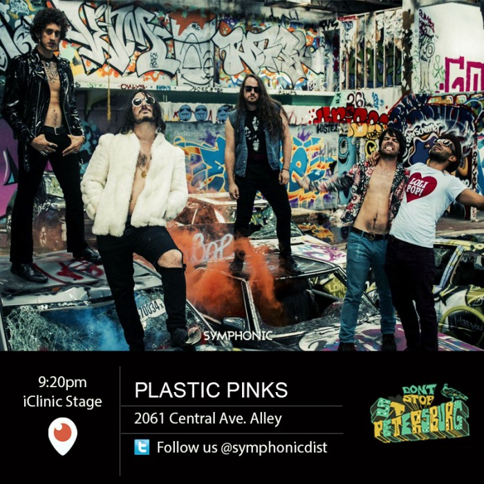plastic pinks