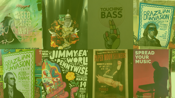 Best Posters at SXSW 2017