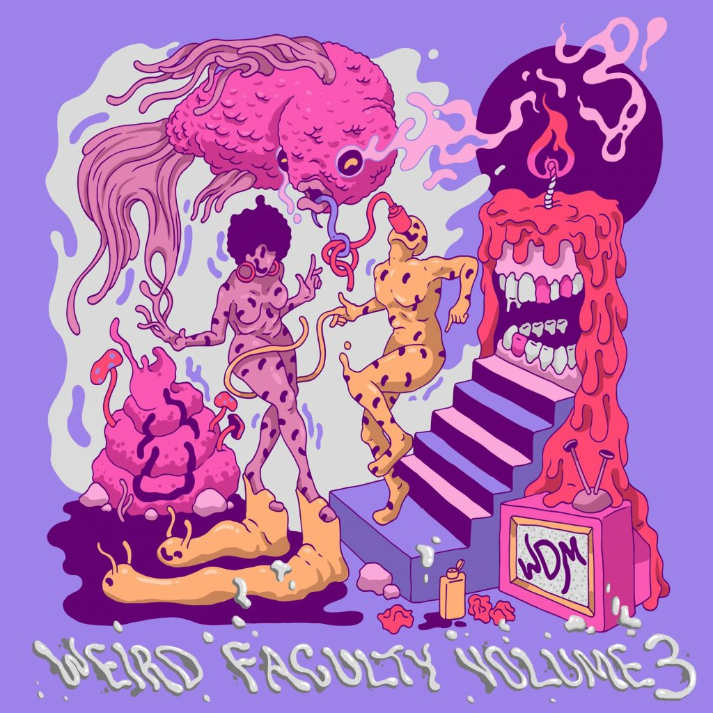 Various Artists-Weird Faculty, Vol. 3__WeirdDanceMusic-WDM004-craiglparryATgmail.com