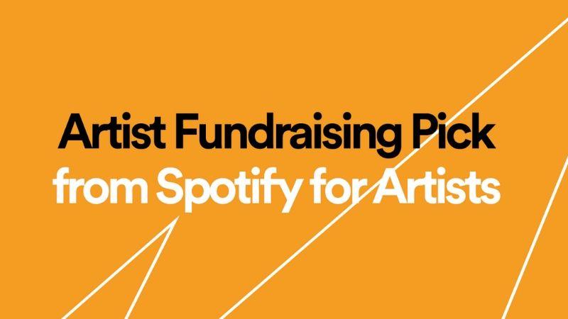 artist fundraising pick